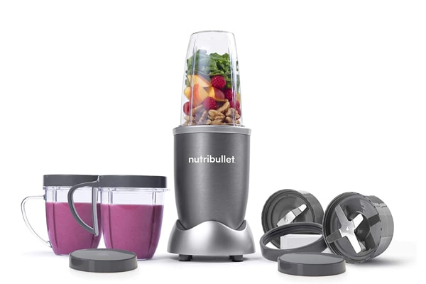 NutriBullet NBR-1201 12-Piece High-Speed Blender For Milkshakes