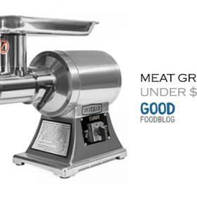 Top 5 Best Meat Grinder Under 100 Dollars Reviews