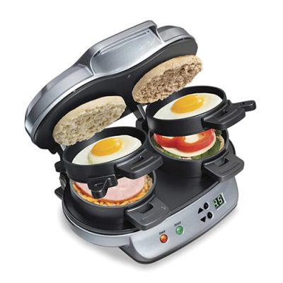 Best Waffle And Sandwich Maker, Hamilton Beach Dual Breakfast Sandwich Maker