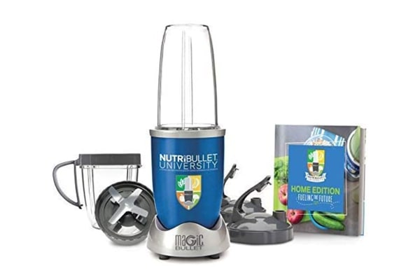 NutriBullet University by Magic Bullet 9-Piece High-Speed Blender