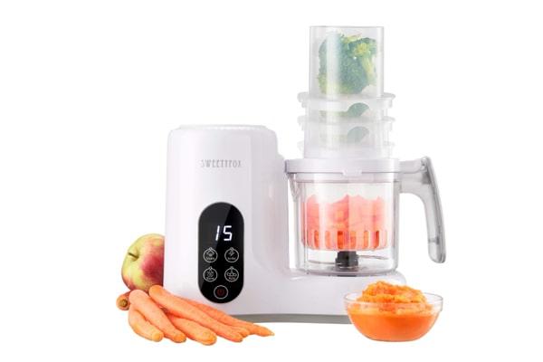 6-in-1 Baby Food Maker Steamer and Blender