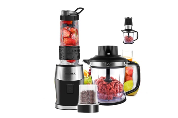 Blender and Food Processor Combo, FOCHEA Smoothie Shake Blender